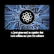 Nerd programmierer urknall platine cpu pc code lol von for T shirt design programs for pc